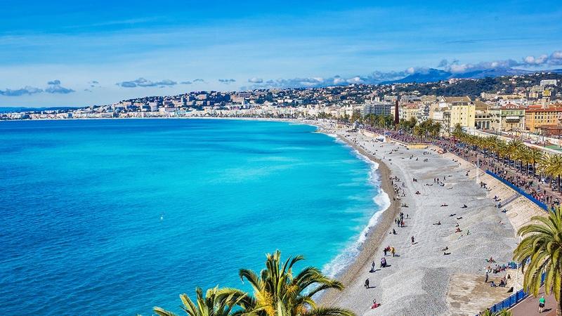 Estivotravel Den Franske Riviera Frankrig